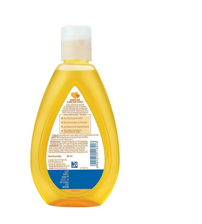 j j Baby Shampoo 1