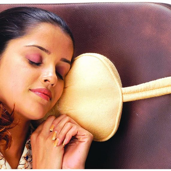 Vissco Cervical Travel Pillow Round with Straps