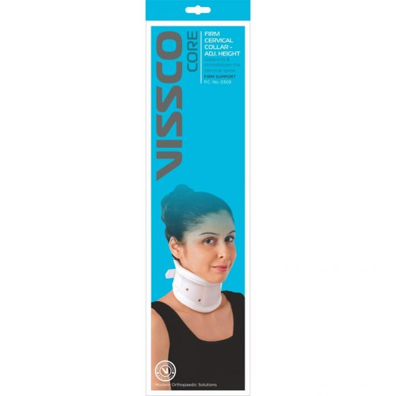 Vissco New Firm Cervical Collar Adjustable Height