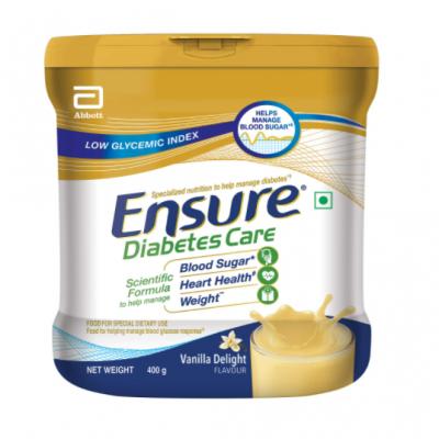 ensure diabetic vanilla 400gm