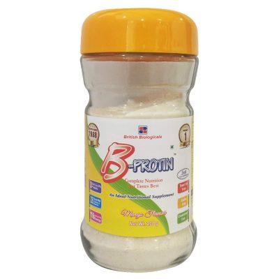 b protin mango 200